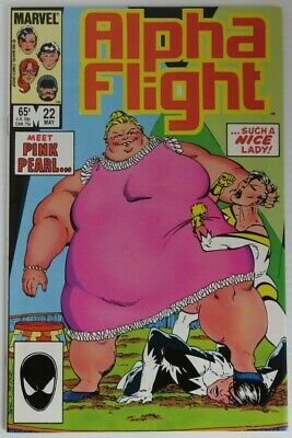 1985 Alpha Flight #22 -   F                   (Inv22716)