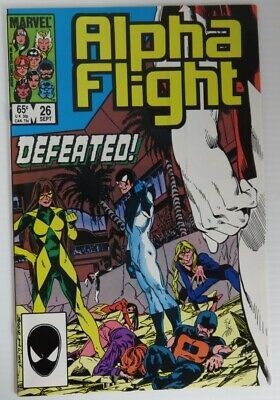 1985 Alpha Flight #26 -  Vf                   (Inv22712)