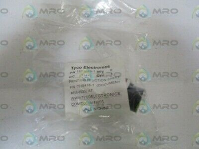 Tyco Electronics Connector Receptacle 1811689-1 * New In Factory Bag *