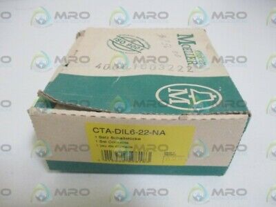 Klockner Moeller Cta-Dil6-22-Na Set Contacts * New In Box *