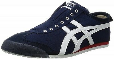 new arrival 90544 081f0 asics Japan Onitsuka Tiger MEXICO 66 SLIP-ON TH3K0N Navy X off-white F