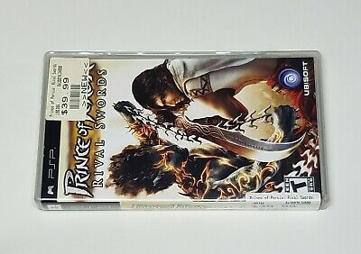 G5) PSP GAME Prince Of Persia Rival Swords Factory Sealed