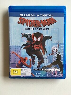 Spider Man Into the Spider verse with UltraViolet Blu-ray Region B NEW Sealed