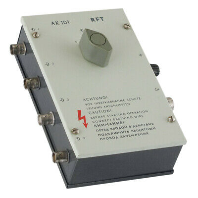 0.15-30MHz AK 101 AK101 Junction Box GDR RFT MESSELEKTRONIK