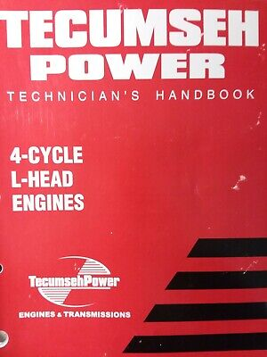 Tecumseh 3-11hp Engine Service Manual Overhaul Repair Shop Garden Tractor VM-100