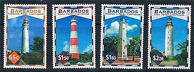 Barbados 2013 Lighthouses 4v set MNH