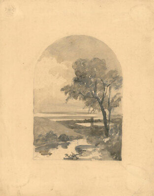 Early 19th Century Watercolour - Landscape View