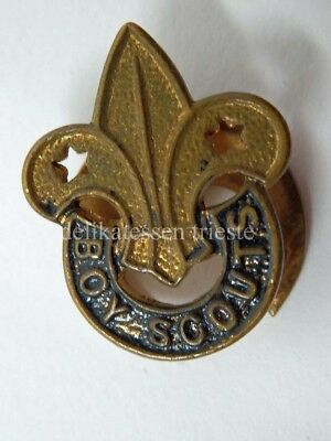 Vecchia spilla BOY SCOUTS old pin spilletta Collins London