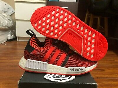 "654f93d17e360 Adidas NMD R1 PK NYC ""RED APPLE"" Size 6.5 BY1905 DS 100% Authentic"