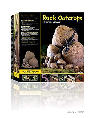 Exo Terra Scorpion Lizard  Cave small Secure hiding cave Moss included BNIB