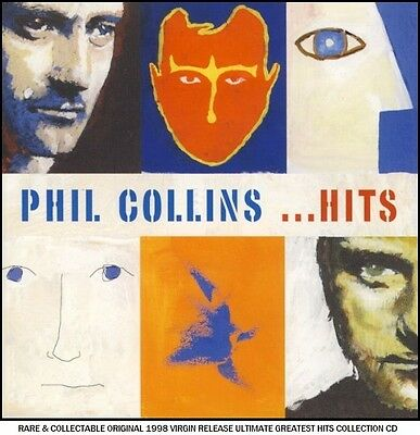 Phil Collins - Very Best Greatest Hits Collection - RARE CD 80's Pop (Genesis)