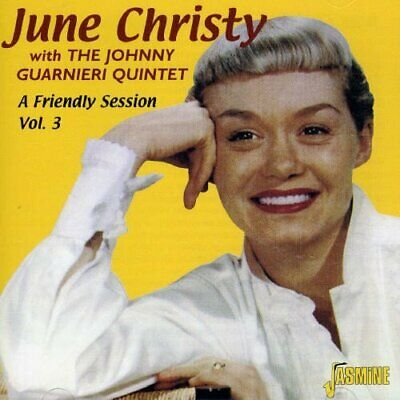 Christy June W. Johnny Guarnie-A Friendly Session  Vol. 3 CD NEW