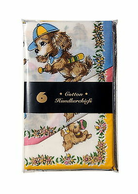 12 NEW Childrens HANDKERCHIEF hankies hanky Kids - Ideal Gift / Birthday Gift
