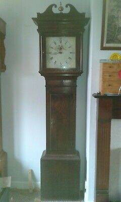 30 hr Grandfather / Longcase clock,Painted dial ,for restoration