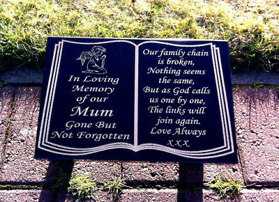Memorial stone Headstone marker grave stone plaque granite headstone plaque