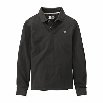 6c3f76c5cc Timberland Earthkeepers Manches Longues Hommes Polo Coton A1c86 001 Ee98