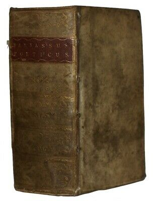 1619 TREATISE ON ANCIENT VERSE Poems POETRY ANTHOLOGY Vellum Binding