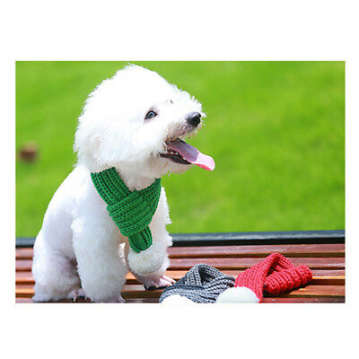 Dog Soft Scarves Scarf Winter Warmer Puppy Care Pet Clothing Neck Warm M XL New