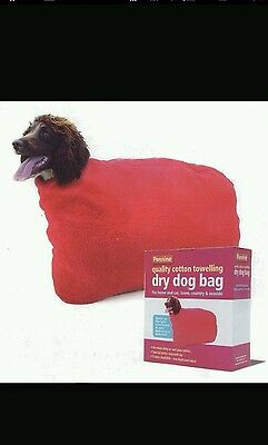 """Dry Dog Bag Size 6 - 24"""" Neck - Prevent Muddy Paws camping"""