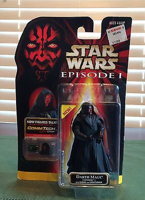Star Wars episode one Darth Maul With Cloak and Lightsaber (Tatooine)