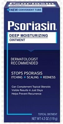 Psoriasin Deep Moisturizing Ointment 4 Oz (Pack of 2)