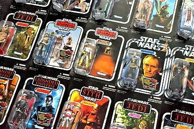 Star Wars Hasbro The Vintage Collection Figures - All Momc - Some Un-Punched