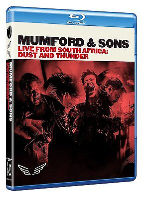 MUMFORD & SONS New Sealed LIVE SOUTH AFRICA CONCERT & MORE BLU RAY