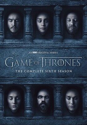 Game of Thrones: The Complete Sixth Season (DVD,2016)