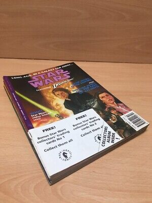 STAR WARS FEATURING INDIANA JONES COMICS Issues 1-10 Complete W/ Trading Cards