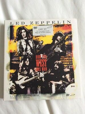 Led Zeppelin How The West Was Won The Original Dvd Audio X 2 Version