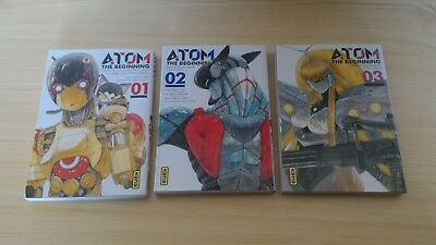 ATOM the beginning / tomes 1 à 3 (Manga, VF)