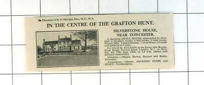 1936 Silverstone House Near Towcester Charming Small House,9 Bedrooms For Sale
