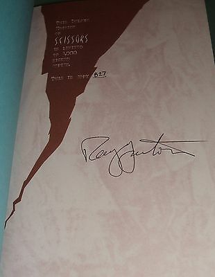 Signed limited First Edition of Scissors by Ray Garton  As new copy