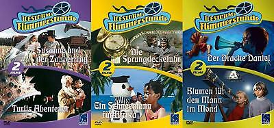 6 FLIMMERSTUNDE Defa Kinderfilme DRACHE DANIEL Sprungdeckeluhr DVD Collection