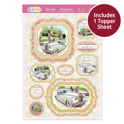 Hunkydory - Pic'N'Mix - Luxury Wedding Day Topper Set - A Lifetime of Happiness