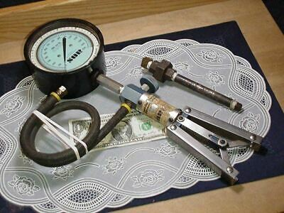SOR Hand-Operated Pneumatic Pressure Calibration Unit 0-800 Inches of Water