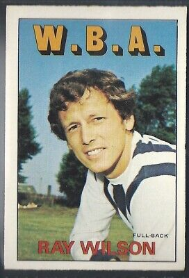 WEST BROM WBA DOUG FRASER A/&BC-FOOTBALL 1969 GREEN BACK FACTS-#037