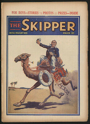 Skipper 30 UK comic grade VG--FN
