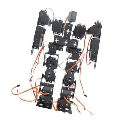 No Assembling 17 DOF Biped Walking Humanoid Robot Accessories w/ Servo Horn