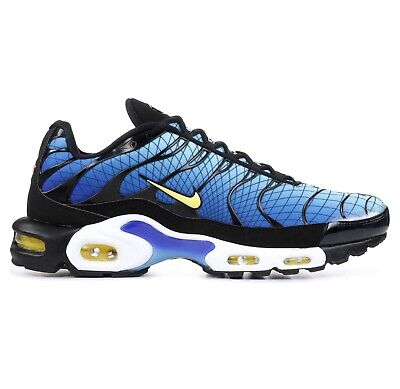0f7a9c02f8 Nike Air Max Plus TN SE Greedy Mens AV7021-001 Blue Black Running Shoes Size