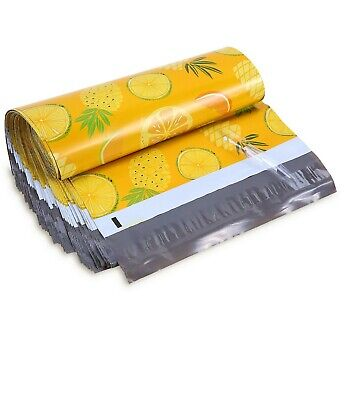 10x13 Pineapple Designer Poly Mailers Envelopes Boutique Custom Bags 100 Bags