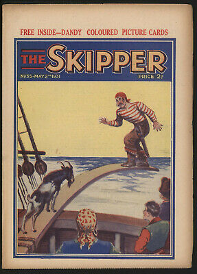 Skipper 35 UK comic grade VG-FN Significant collection