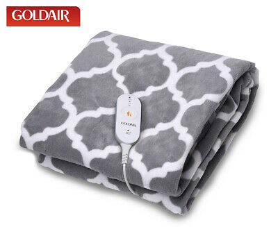 Goldair Heated Throw - Patterned