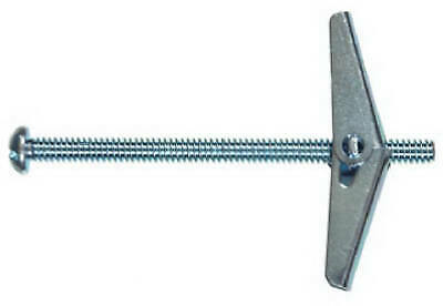HILLMAN FASTENERS Toggle Bolt, Spring Wing, Round Head, 3/16 x 4-In. 370057