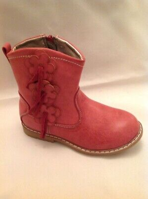 Chatterbox Children's Ankle Boot with flower detail size 20 uk4