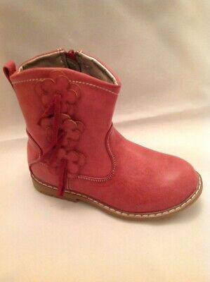 Chatterbox Children's  Ankle Boot with flower detail size 8
