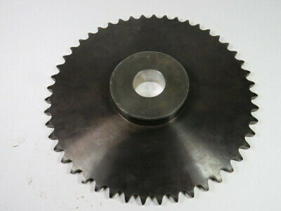 "PLI 60B48 Roller Chain Sprocket 1.688"" ID 48T 60C .0015"" OD ! WOW !"