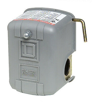 SQUARE D Pressure Switch With Low Pressure Cut-Off For Electric Water Pump, 30/5