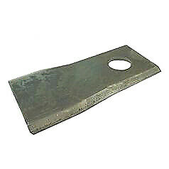 Fella/Krone Mower Blade LH & RH 112mm x 49mm x 4mm Hole Size 19mm Tractor Mount
