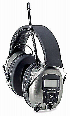 SAFETY WORKS INC MP3/AM/FM Digital Radio & Hearing Protector Safety Earphones